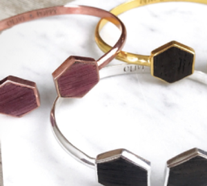 Hexagon Cuff Bracelet Image