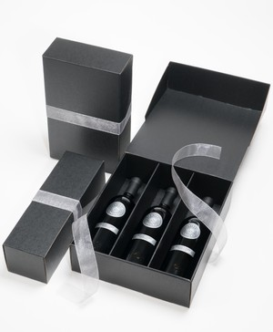 Black Gift Box (3 bottle)