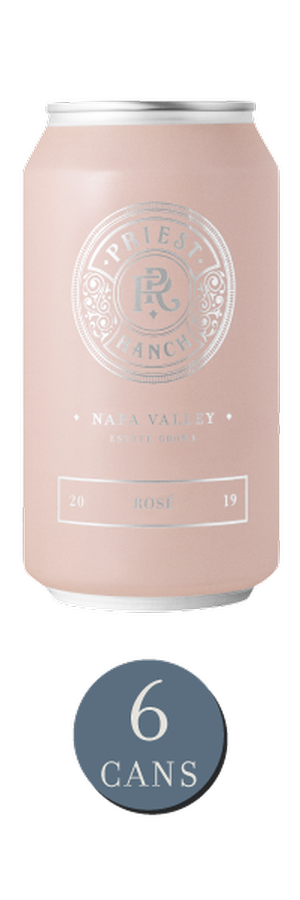 2019 Priest Ranch Rosé Cans
