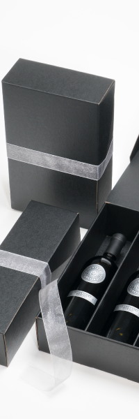 Black Gift Box (2 bottle)